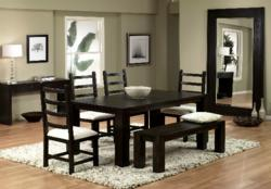 Dining Sets Made in the USA with Vintage Wood